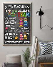Teacher We Are A Team 11x17 Poster lifestyle-poster-1