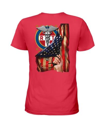 Respiratory Therapist American Flag