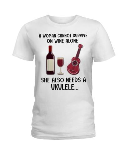 Woman Also Need A Ukulele