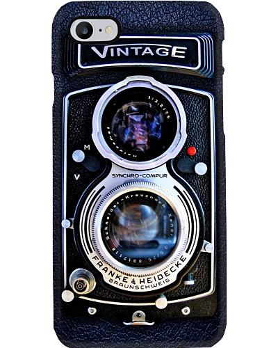 Photographer Vintage Double Lens Camera