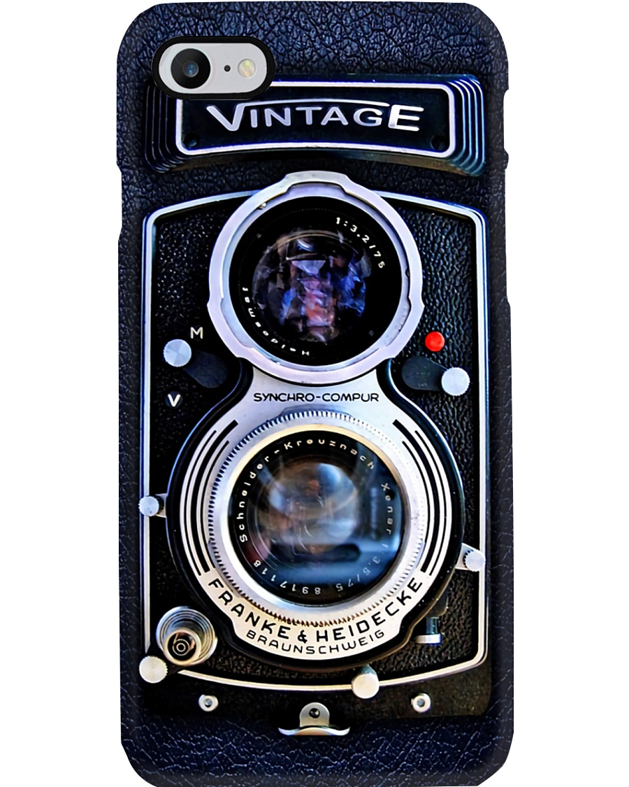 Photographer Vintage Double Lens Camera Phone Case