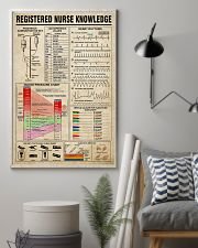 Registered Nurse Knowledge 11x17 Poster lifestyle-poster-1