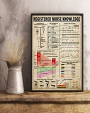 Registered Nurse Knowledge 11x17 Poster lifestyle-poster-3