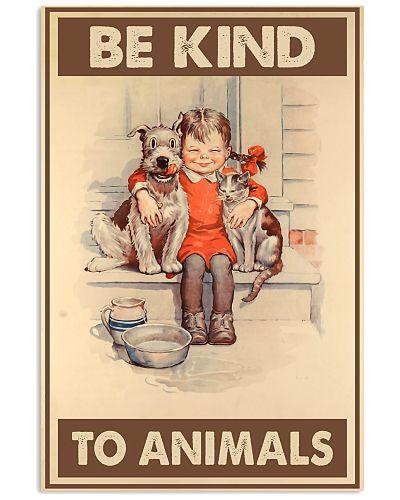 Vegan Be kind to animals