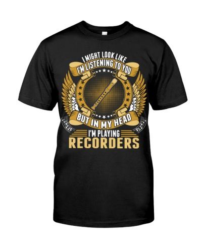 Recorder - In my head I'm playing recorders