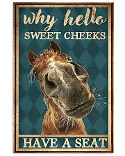 Horse Girl Why Hello Sweet Cheeks Have A Seat 11x17 Poster front