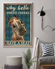 Horse Girl Why Hello Sweet Cheeks Have A Seat 11x17 Poster lifestyle-poster-1