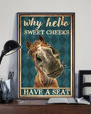 Horse Girl Why Hello Sweet Cheeks Have A Seat 11x17 Poster lifestyle-poster-2