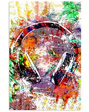 DJ Colorful Headphone 11x17 Poster front