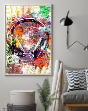 DJ Colorful Headphone 11x17 Poster lifestyle-poster-1