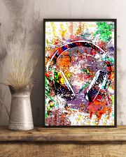 DJ Colorful Headphone 11x17 Poster lifestyle-poster-3