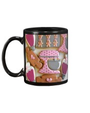 Baker Baking Cookies  Mug back