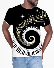 Pianist Twinkle Music Notes All-over T-Shirt aos-all-over-T-shirt-lifestyle-front-04
