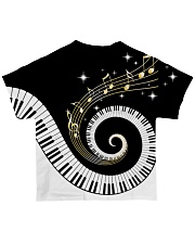 Pianist Twinkle Music Notes All-over T-Shirt back