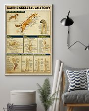 Veterinarian Canine Skeletal Anatomy Poster 11x17 Poster lifestyle-poster-1