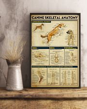 Veterinarian Canine Skeletal Anatomy Poster 11x17 Poster lifestyle-poster-3