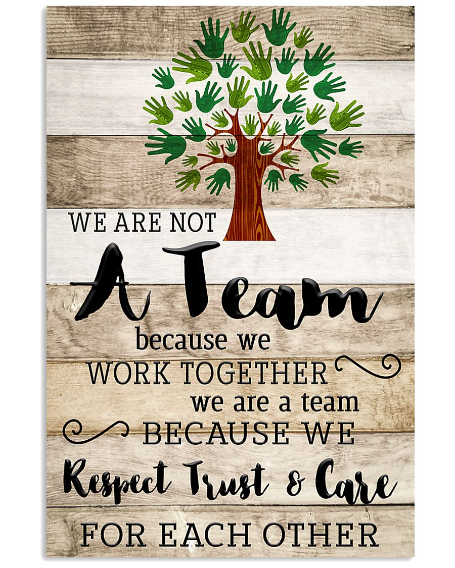 Occupational Therapist We Work Together 11x17 Poster