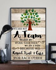 Occupational Therapist We Work Together 11x17 Poster lifestyle-poster-2