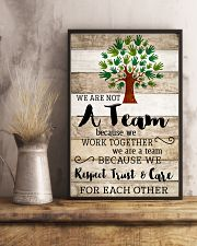 Occupational Therapist We Work Together 11x17 Poster lifestyle-poster-3