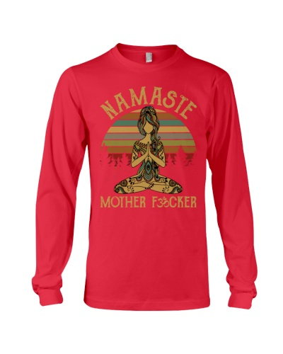 Yoga Namaste Mother Fucker