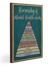 Social Worker Hierarchy Of Mental Health Needs 20x30 Gallery Wrapped Canvas Prints thumbnail