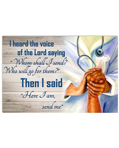 Nurse Here I am send me Poster