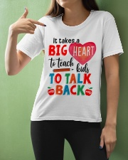 SLP Big Heart To Teach Kids Talk Back Ladies T-Shirt apparel-ladies-t-shirt-lifestyle-front-10