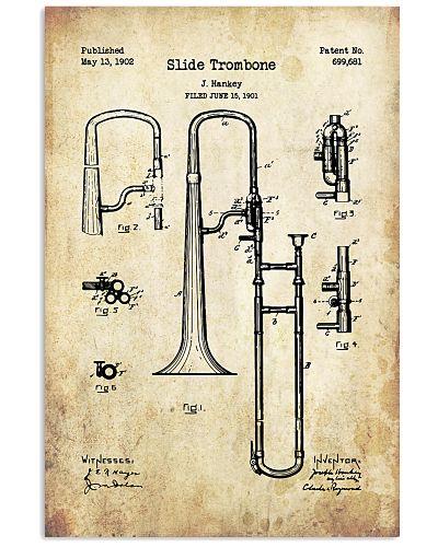 Trombonist Slide Trombone