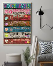 Voice Levels Art Print  11x17 Poster lifestyle-poster-1