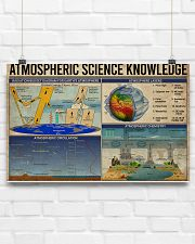 Science Atmospheric Science Knowledge 17x11 Poster poster-landscape-17x11-lifestyle-17