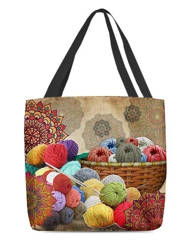 Crochet And Knitting - Yarn Basket
