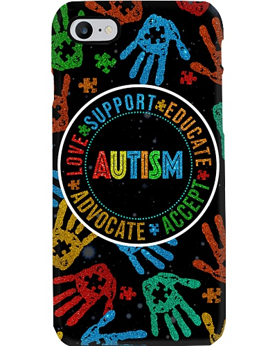 Autism Support Educate Advocate Accept Love