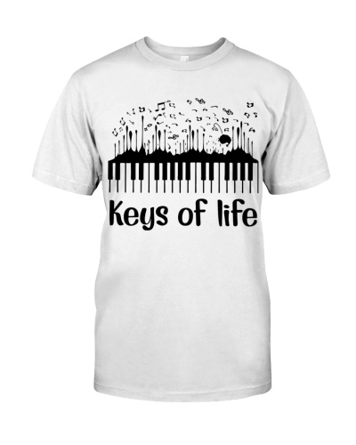 Pianist Keys of life