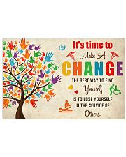 Occupational Therapist It's Time To Make A Change 17x11 Poster front