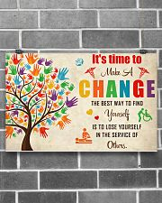 Occupational Therapist It's Time To Make A Change 17x11 Poster poster-landscape-17x11-lifestyle-18