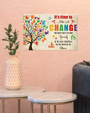 Occupational Therapist It's Time To Make A Change 17x11 Poster poster-landscape-17x11-lifestyle-21