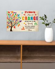 Occupational Therapist It's Time To Make A Change 17x11 Poster poster-landscape-17x11-lifestyle-24