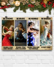 Violinist Be Strong When You Are Weak  17x11 Poster aos-poster-landscape-17x11-lifestyle-28