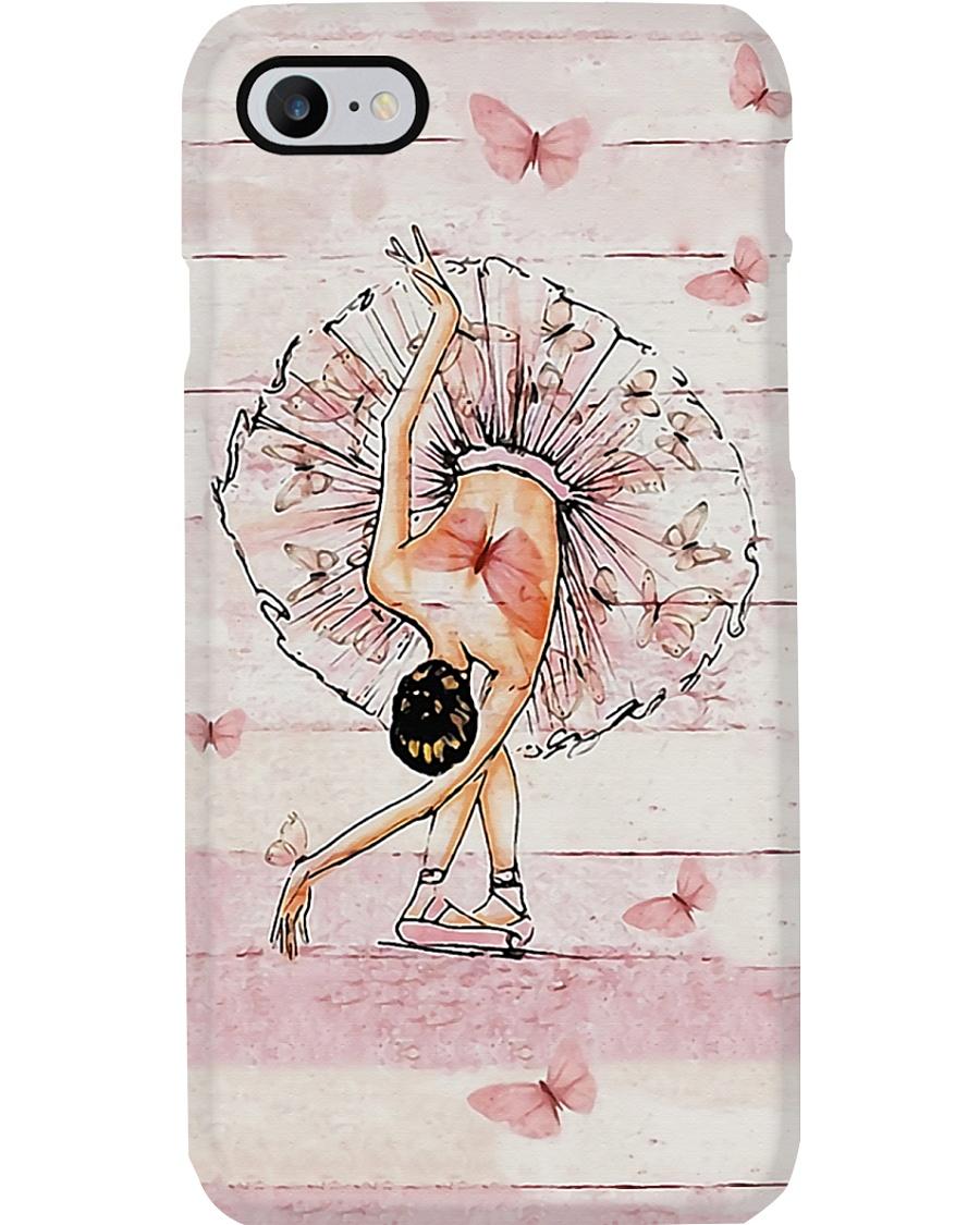 Ballet Pink Girl  Phone Case
