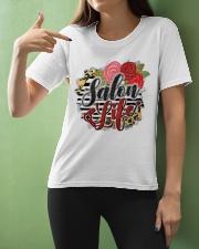 Salon Life Hairdresser Ladies T-Shirt apparel-ladies-t-shirt-lifestyle-front-10