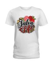 Salon Life Hairdresser Ladies T-Shirt front