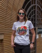 Salon Life Hairdresser Ladies T-Shirt lifestyle-women-crewneck-front-2