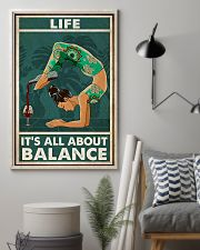 Yoga Life It's All About Balance 11x17 Poster lifestyle-poster-1