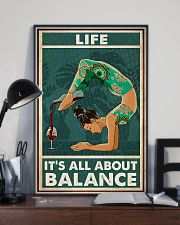 Yoga Life It's All About Balance 11x17 Poster lifestyle-poster-2