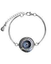 Photographer Vintage Camera Art Metallic Circle Bracelet thumbnail