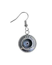Photographer Vintage Camera Art Circle Earrings thumbnail