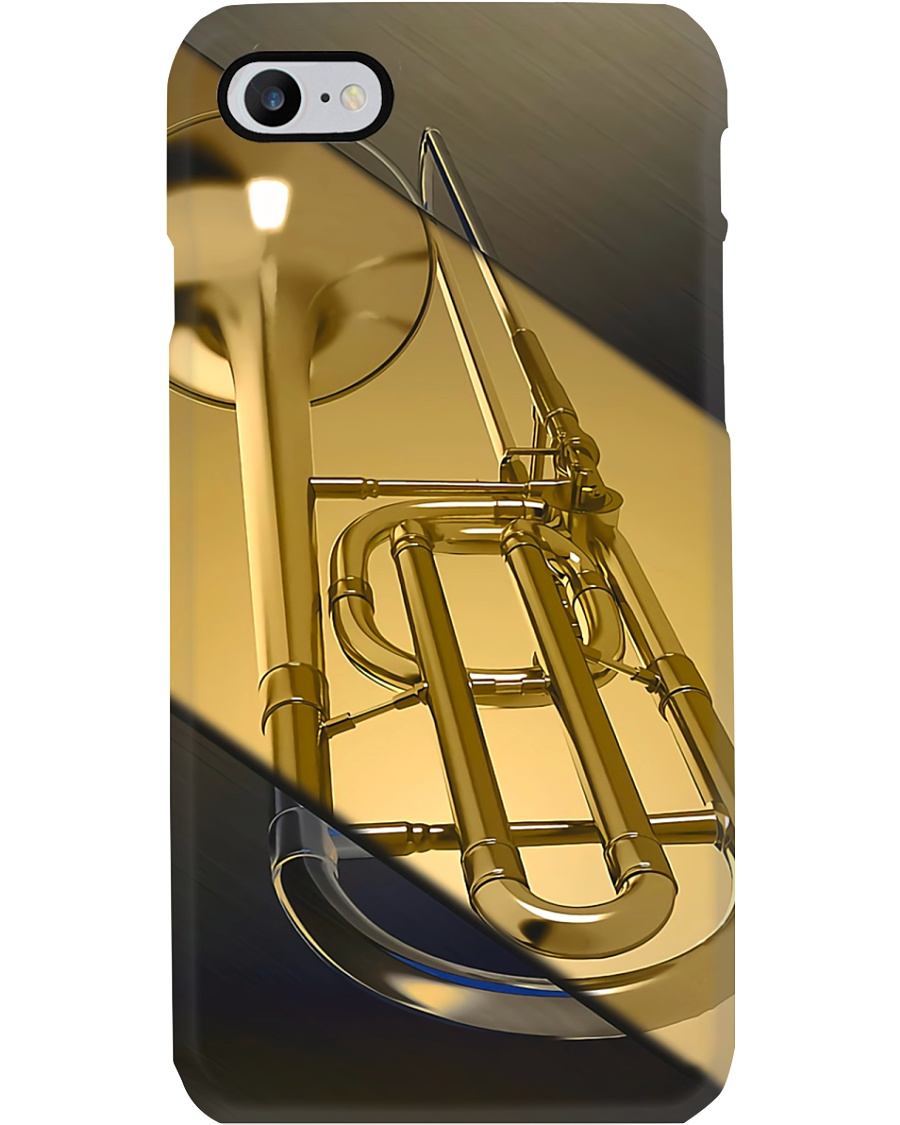 Trombonist Gold Trombone  Phone Case