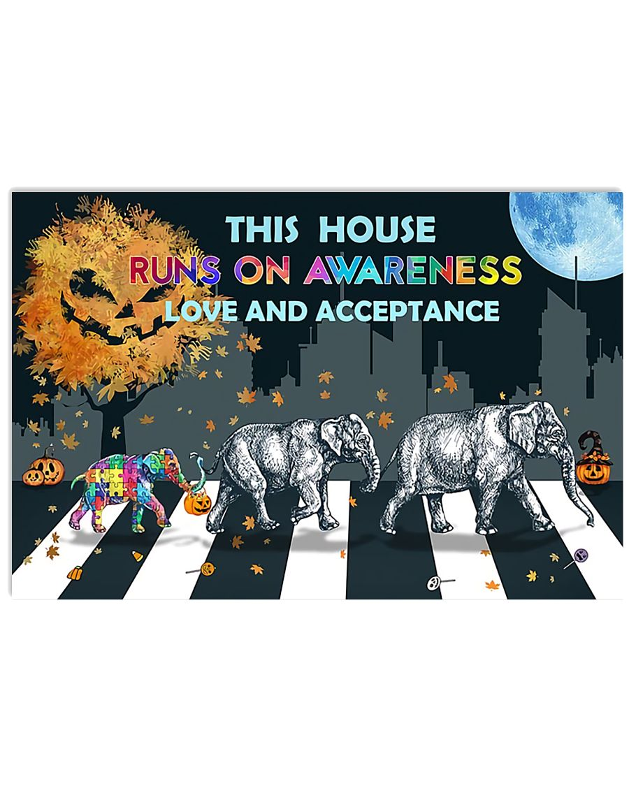 Autism Love And Acceptance 17x11 Poster
