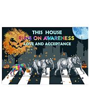 Autism Love And Acceptance 17x11 Poster front