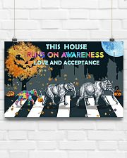 Autism Love And Acceptance 17x11 Poster poster-landscape-17x11-lifestyle-17